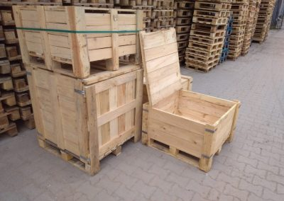 skrzynie drewniane